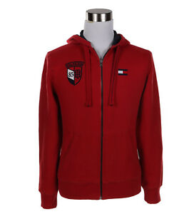 Tommy-Hilfiger-Men-039-s-Sweat-Shirt-Sweater-Fleece-Hoodie-Full-Zip-Jacket-0-Ship