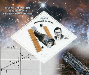 Space-Stamps-2019-MNH-Edwin-Powell-Hubble-Telescopes-130th-Birth-Anniv-1v-S-S