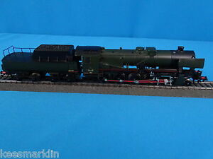 Marklin-34156-SNCBNMBS-Steamer-with-Tender-series-26-Green-Black-TUBIZE-DELTA