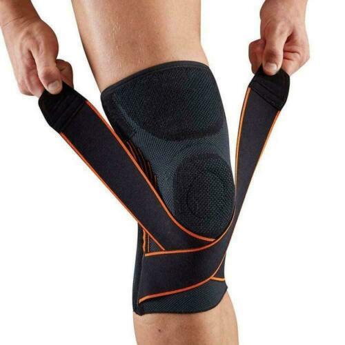 Adjustable Knee Support Brace Strap Compression Sleeve Sports Protector Ligament
