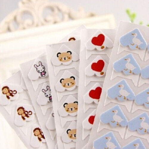 DIY Cute Animals Corner Paper Stickers for Photo Albums Frame Decoration LI