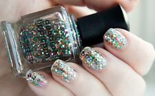 Deborah Lippmann HAPPY BIRTHDAY Nail Polish Lacquer multi glitter ~ full size