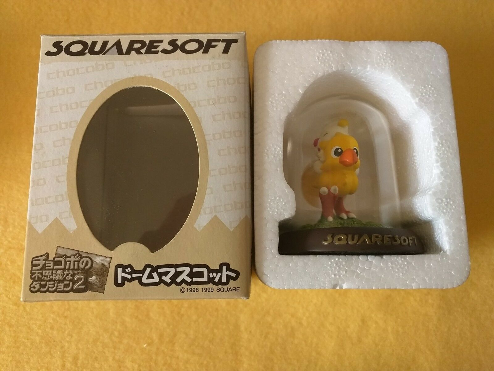 Figurine Statue Chocobo Dome Moogle edition limited NO NUMBER - box boite box - 073066
