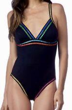 a3bc9d4da1be0 item 5 LA BLANCA Threading Along OTS Mio 1Pc Black Pink Blue Swim Suit NEW  Womens 6 10 -LA BLANCA Threading Along OTS Mio 1Pc Black Pink Blue Swim Suit  NEW ...