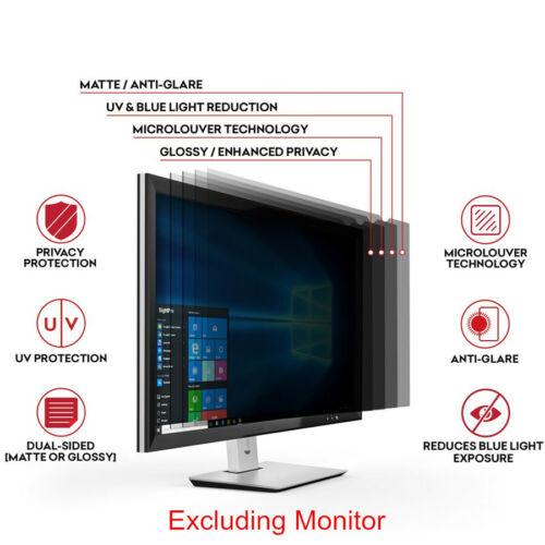 20 inch Widescreen Computer Privacy Screen Filter Laptop LCD Monitor Anti-Glare