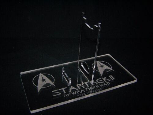 Acrylique Présentoir Pour Diamond Select Star trek wrath of khan Phaser