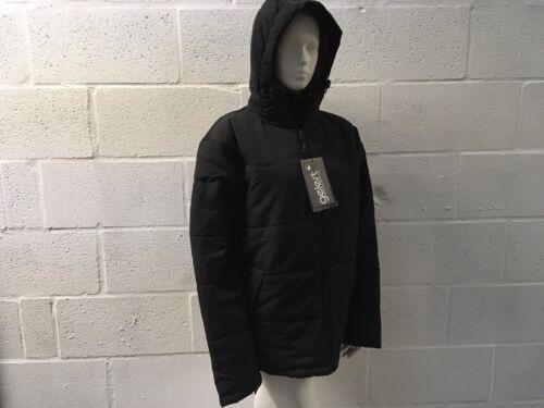 GELERT MEN/'S HUDSON INSULATED JACKET MEDIUM BLACK NEW RRP £55 WINTER WARM