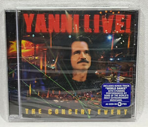 Yanni-Live-The-Concert-Event-by-Yanni-Music-CD-2006-New-Sealed