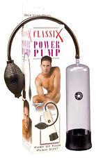 Classix Power Pump Cock Dick Penis Enlargment Enlarger Vacuum