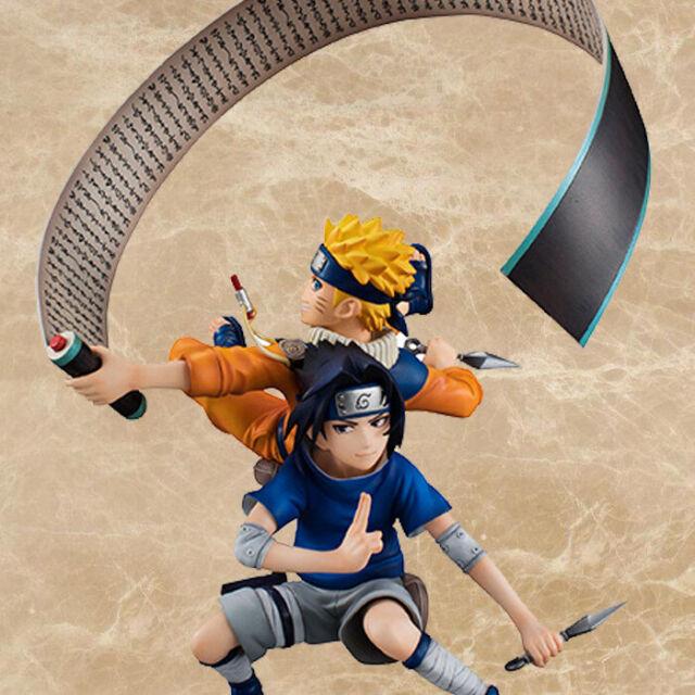 SH Figuarts Anime Naruto Shippuuden Uzumaki Sasuke Uchiha Action Figure Statue