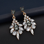1Pair-Women-Multicolor-Rhinestone-Crystal-Resin-Ear-Stud-Eardrop-Dangle-Earring thumbnail 5