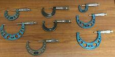 104082 8 Micrometer Set Mitutoyo Amp Fowler Used
