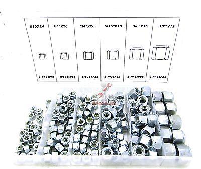 150-pc Wing Nut Assortment GALVANIZED DIE CAST ALLOY STEEL 6 Assort Sizes