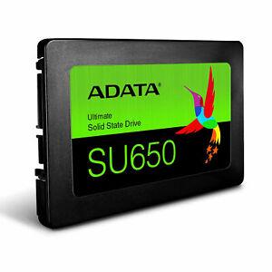 """Adata 120 Go 2.5"""" Solid State Drive Ultimate Su650 S-ata/600-afficher Le Titre D'origine AgréAble Au Palais"""