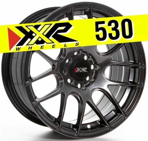 XXR 530 16X8 4X100 4X114.3 20 CHROMIUM BLACK WHEEL