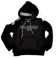 Kappa Hoody Kinder schwarz FC Valenzia CF Fußball Gr. 110  5 Jahre Kids Pullover