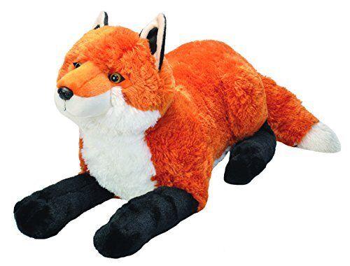 Wild Republic Jumbo Fox Plush, Giant Stuffed Animal, Plush Toy, Gifts for Kid...    Verbraucher zuerst