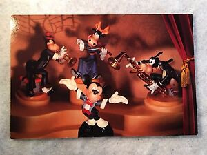 """WDCC Disney Post Card 4"""" x 6"""" Mickey Mouse's Symphony Hour Horizontal"""