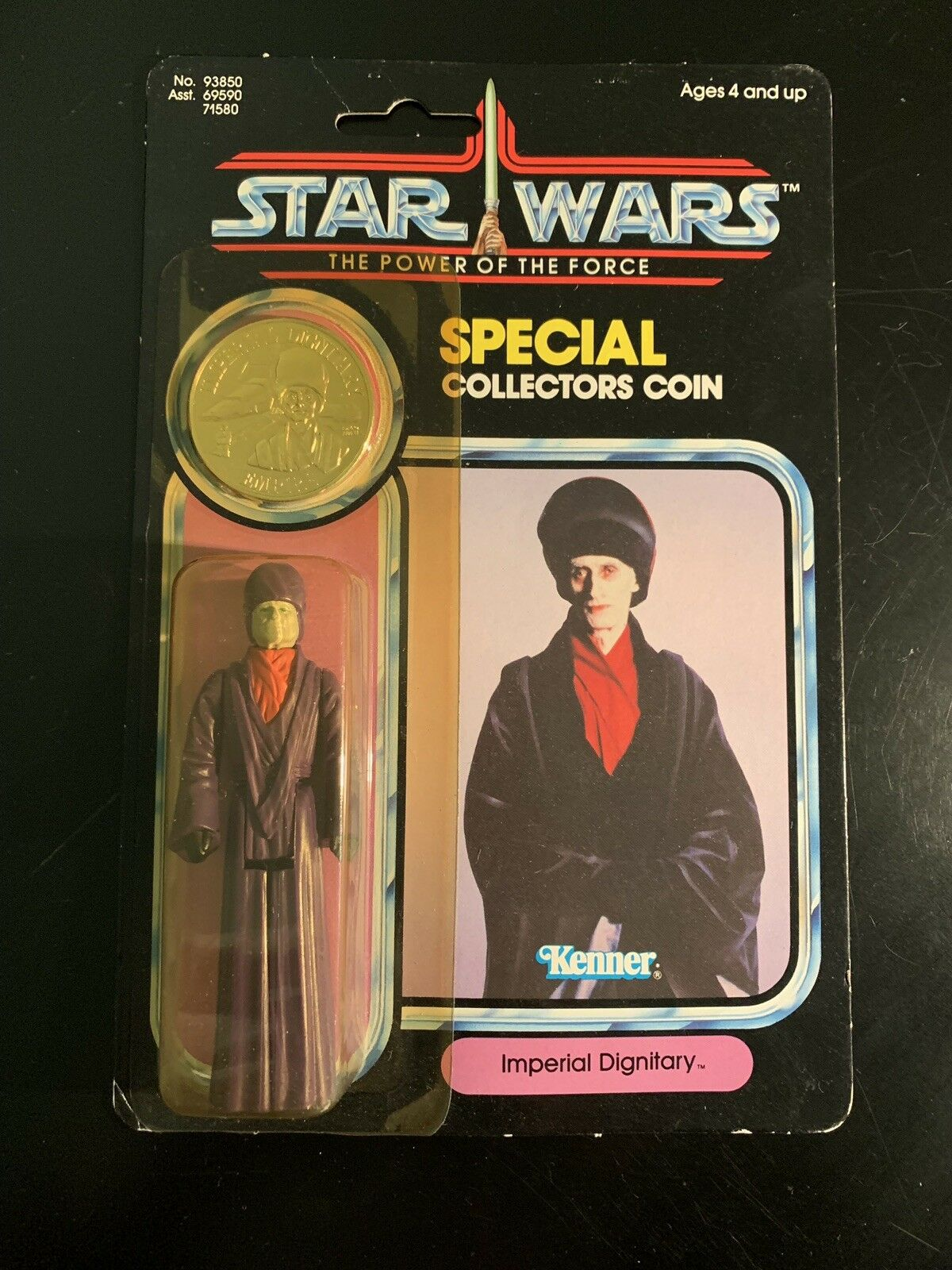 Star Wars - The Power Of The Force - Imperial Dignitary.