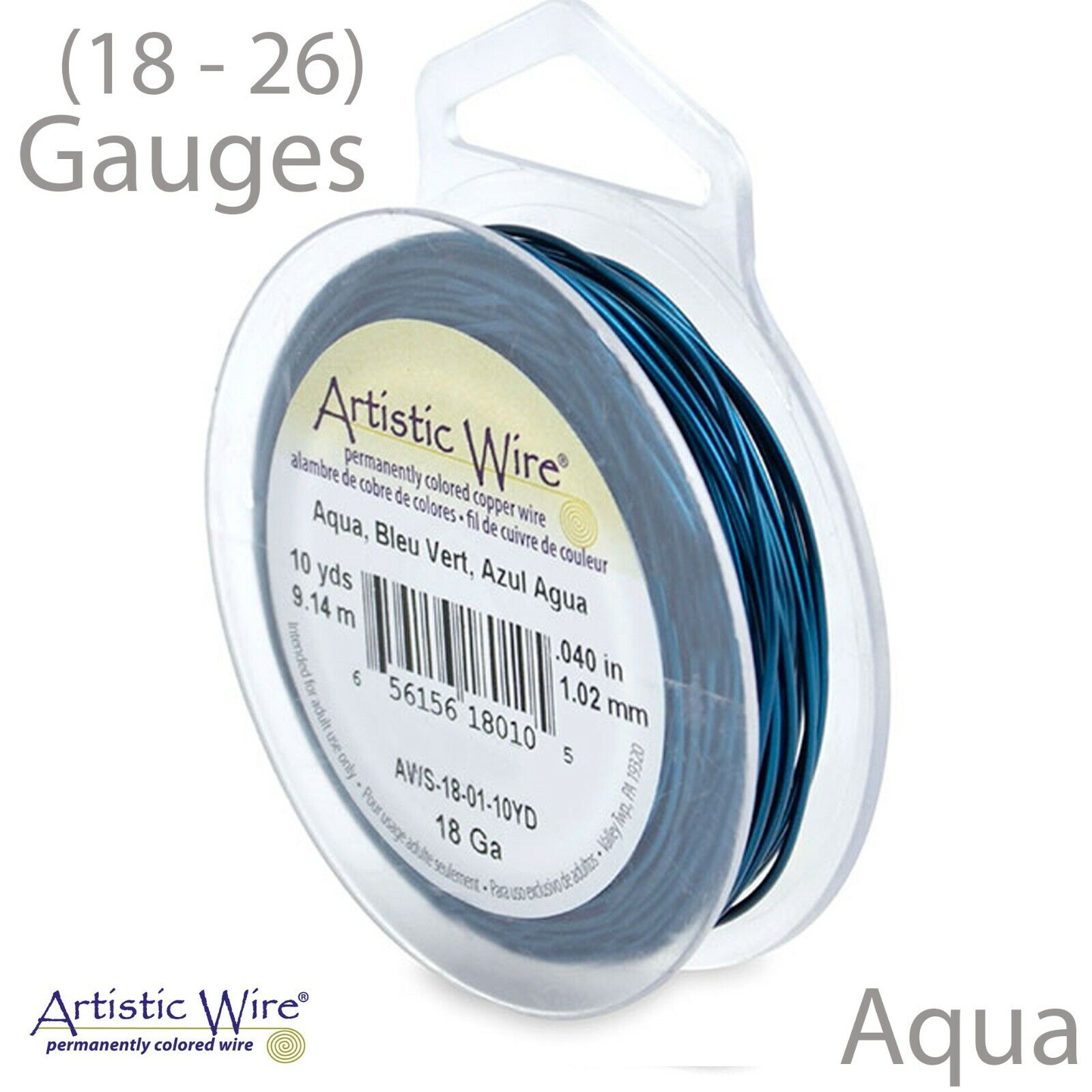 30-Yards Artistic Wire 26-Gauge Red Wire