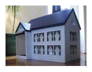 verstecktes katzenklo katzentoilette haus mit deckel f r. Black Bedroom Furniture Sets. Home Design Ideas