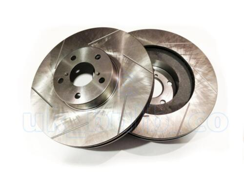 BE, BH 2.5 2000-03 GROOVED Performance FRONT Brake Discs For SUBARU OUTBACK