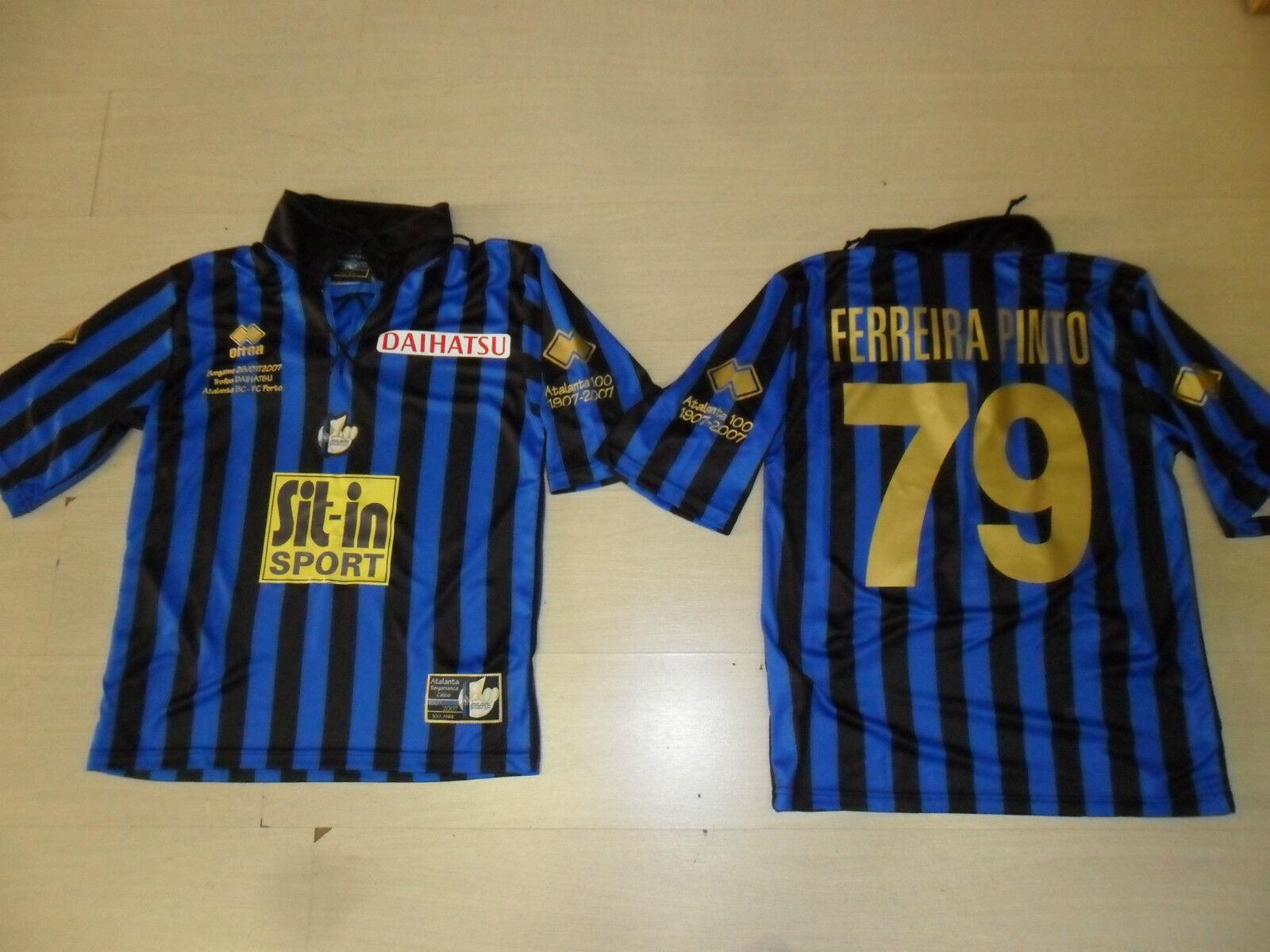 0901 M ATALANTA FERREIRA PINTO CENTENARIO DAIHATSU CUP MAGLIA MAGLIETTA JERSEY