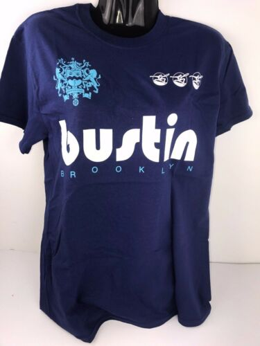 Bustin Boards Men T-Shirt Longboard Skateboard Skate Tee FREE POSTAGE BRAND NEW