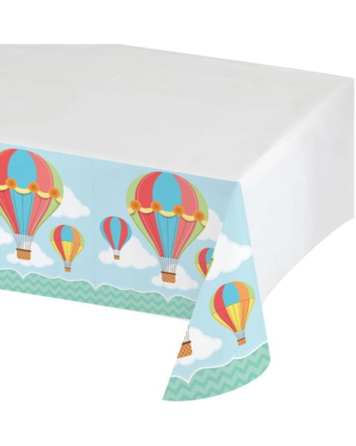 Up Up and Away Plastic Tablecover