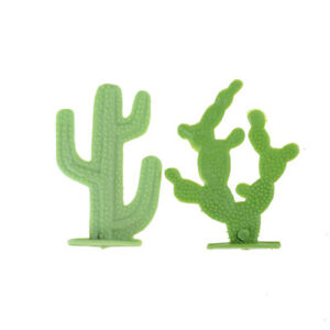 2X-6cm-Cactus-Plant-Model-Railway-Park-HO-SCALE-Layout-Scenery-Dollhouse-v-HCUK