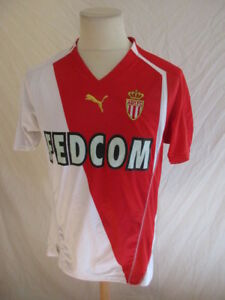 Details about Football Jersey Vintage As Monaco No. 2 Worn? Puma Size M