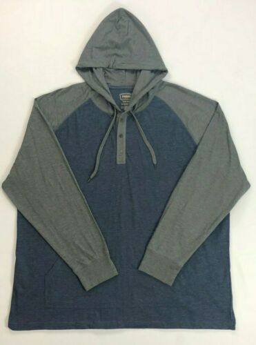 Men/'s Foundry Big /& Tall Hooded Long Sleeved Cotton Shirt