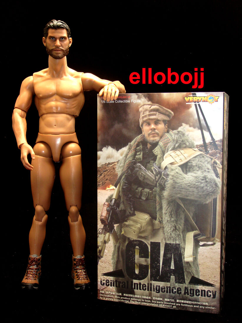 JJ KITS custom* 1/6 - Very Hot - CIA - complet - Body + Head + Costume