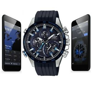 005cea8679d6 Image is loading CASIO-EDIFICE-EQB-501XBR-1AER-WITH-BLUETOOTH-SMARTPHONE-