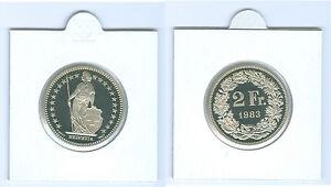 Suisse 2 Francs Pp De Kms (choisissez Parmi: 1975 - 2006)-afficher Le Titre D'origine
