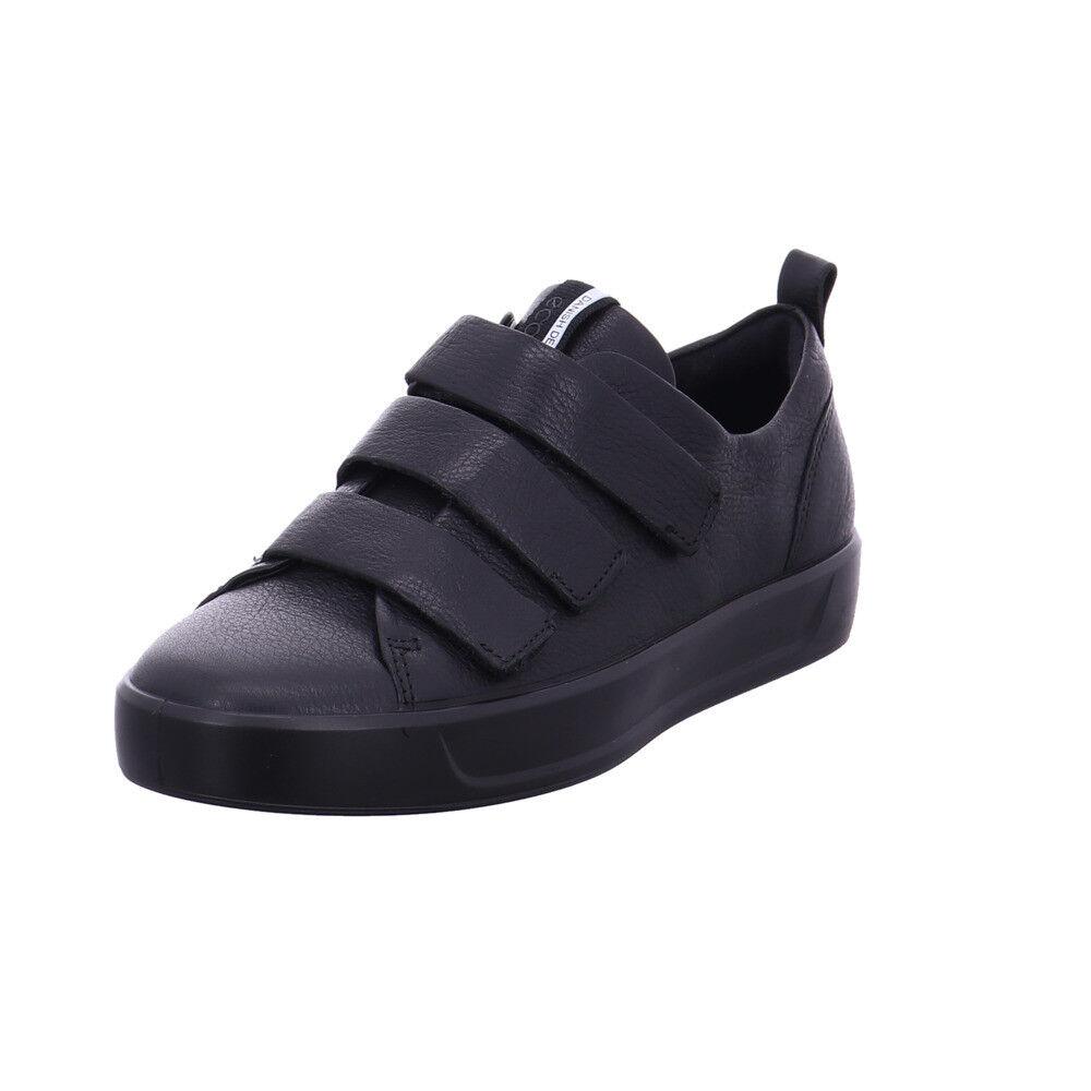 Ecco Damen 440513 51052 Schwarze Glattleder Slipper    | Viele Stile