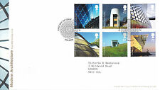 20 GIUGNO 2006 ARCHITETTURA MODERNA ROYAL MAIL FIRST DAY COVER London EC3 SHS