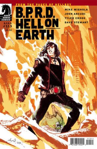 BPRD Hell on Earth #113 Unread New Near Mint Dark Horse 2013 CBX29