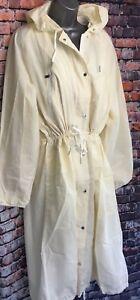 NEW-NEXT-18-cream-hooded-maxi-long-raincoat-mac-lightweight-coat-jacket-50-Off