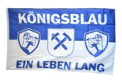 Fahne Fanflagge Gelsenkirchen Förderturme Flagge Schalke Hissflagge 90x150cm