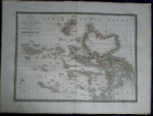 Carte Geographique Australie Gratuit Grand Format.Details Sur Carte Geographique Ancienne Oceanie Australie Polynesie Grand Format 1829 Atlas