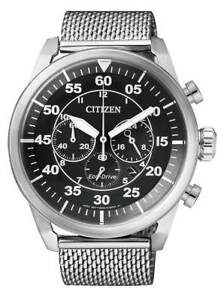 Citizen-Mens-Stainless-Steel-Eco-Drive-Chronograph-Watch-100WR-CA4210-59E