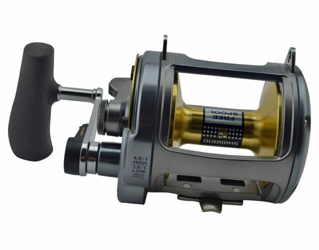 Shimano Tyrnos TYR50IILRS Two speed fishing reel