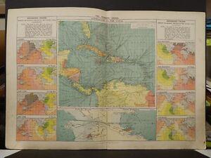 Mercantile Marine Atlas 1914 The Panama Canal R4#69