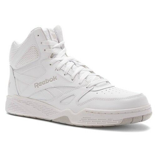 Reebok Men s Royal Bb4500 Hi Fashion Sneaker White steel 7.5 M US for sale  online  4847fbdfd