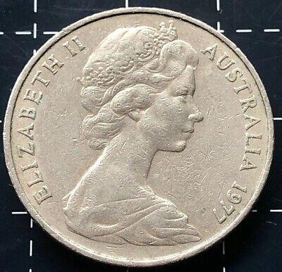 Ex RAM Set 20c 1977 Australian Proof Twenty Cent Coin Free Post Aust!