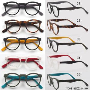 d3f718a998f Vintage Acetate Small Round Eyeglass Frames Cat eye Eyewear Glasses ...