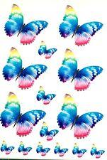 Killer Graffix Digitally Printed Rainbow Butterfly Stickers Car Boat Bike Van