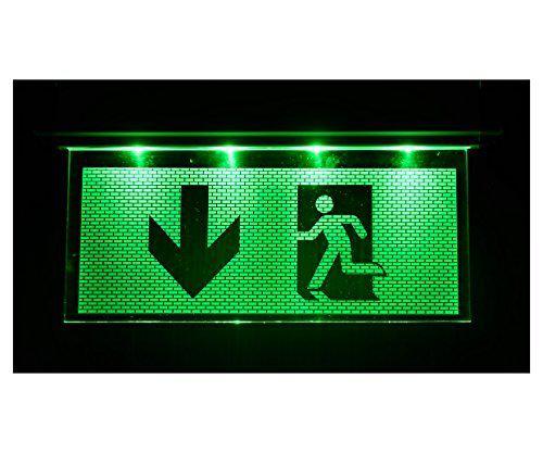 LED Notbeleuchtung Fluchtwegleuchte Notlicht Notleuchte Notausgang NV52