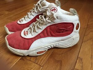 finest selection e16ef cc66d Image is loading Reebok-Answer-3-III-AI-Allen-Iverson-White-